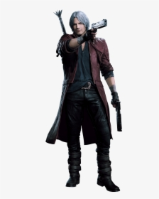 Devil May Cry Clipart Png Dante Dmc Devil May Cry