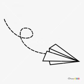 Transparent Paper Airplanes Clipart Paper Airplane Tattoo Drawings Hd Png Download Kindpng