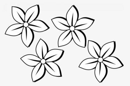Flowers For Simple Hibiscus Flower Drawing Pink Hibiscus Flower Drawing Hd Png Download Kindpng
