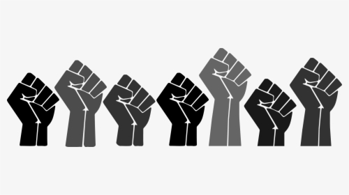 Black History Month Fists Hd Png Download Kindpng