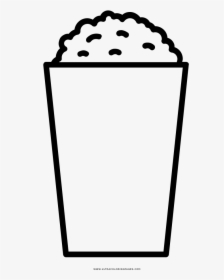 Popcorn Coloring Page - Cartoon Clipart (#3626242) - PinClipart | 280x224
