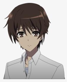 Animated Sad Boy Png Image Anime Boy Brown Hair Brown Eyes Transparent Png Kindpng