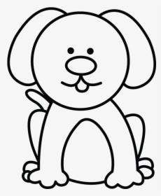 Easy Clipart Dog Easy Simple Dog Drawing Hd Png Download Kindpng