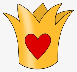 Queen Of Hearts Crown Template from p.kindpng.com
