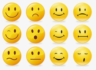 Transparent Free Emoticons Clipart Smiley A Imprimer Hd Png