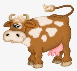 Cartoon Cow Eating Grass Clipart Cattle Clip Art - Cow Farm Animals Clipart  - Free Transparent PNG Clipart Images Download