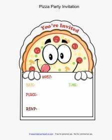 Clip Art Pizza Party Invitation Template Pizza Birthday