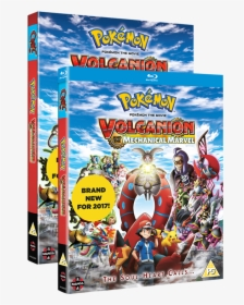 Pokemon The Movie Volcanion And The Mechanical Marvel Hd Png