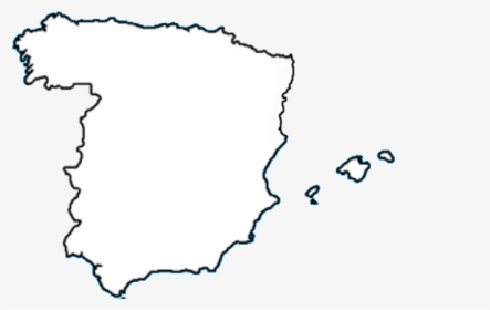 Map Of Spain Blank.Blank Map Of Spain Spain Regions Map Black And White Hd