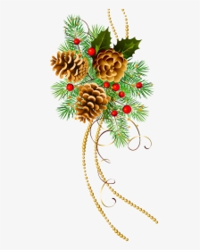 Watercolor Christmas Floral Banner. Hand Painted Floral Garland With  Berries And Fir Branch, Eucalyptus Leaves, Pine Stock Illustration -  Illustration of eucalyptus, floral: 131909294