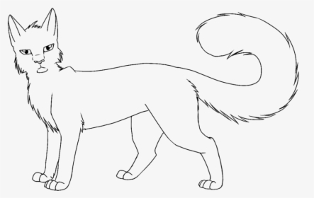 Printable Warrior Cat Coloring Pages, HD Png Download - Kindpng