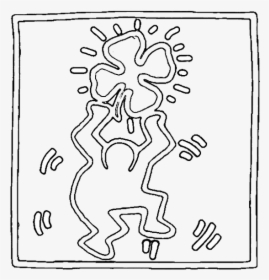 Keith Haring For Kids Artprints To Color - Keith Haring For Kids ... | 280x269