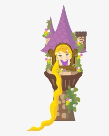 Rapunzel Clipart Rapunzel Castle Rapunzel Tower Clipart Hd Png Download Kindpng