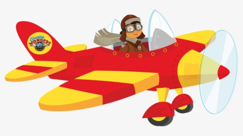 Old Plane Clipart Cute Clipart Amelia Earhart Plane Hd Png Download Kindpng
