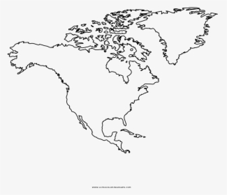 43 north america coloring page outline map of usa