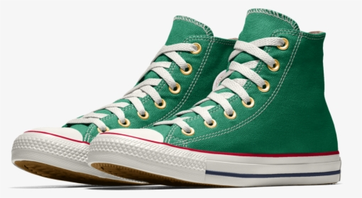Kelly Green Converse Shoes, HD Png