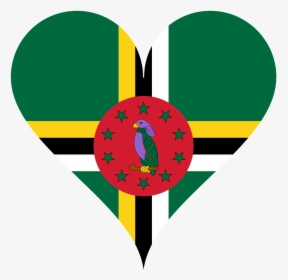 Dominica Flag Png Dominica Map And Flag Transparent Png Kindpng