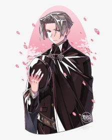 Miles Edgeworth Official Art Hd Png Download Kindpng