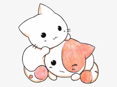 Kitten Clipart Kawaii Cartoon Kittens And Puppies Hd Png