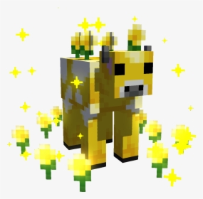 aesthetic minecraft logo yellow