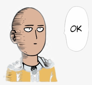 One Punch Man Ok Png Images Free Transparent One Punch Man Ok Download Kindpng