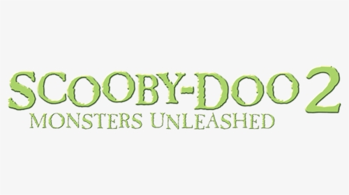 Scooby Doo 2 Monsters Unleashed 2004 Hd Png Download Kindpng