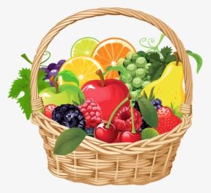 Fruit And Vegetables Basket Png Vegetables Png