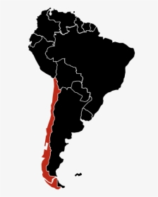 Map Of South America Showing Spanish Speaking Countries, HD ...