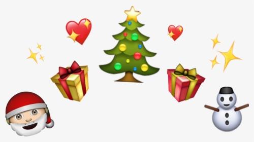 Christmas Cute Crown Santa Tree Stars Xmas Holiday Hd Png Download Kindpng