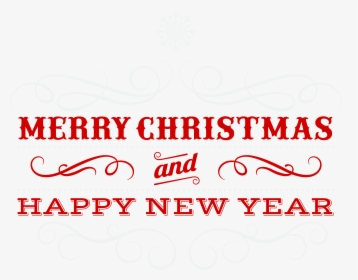 Merry Christmas Words PNG Images, Free