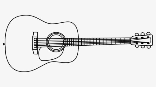 Clip Art Acoustic Guitar Templates Acoustic Guitar Clip Art Hd Png Download Kindpng