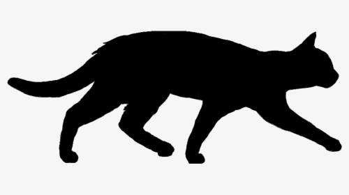 Clipart Walking Cat Cat Walking Silhouette Transparent Hd Png Download Kindpng