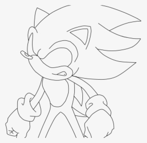 Dark Sonic Coloring Pages Png Download Dark Sonic Coloring Page Transparent Png Kindpng