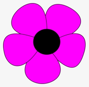 Simple Flower Drawing Simple Flower Clipart Hd Png Download Kindpng