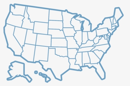United States Outline PNG Images, Free Transparent United ...