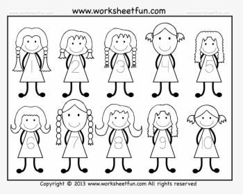 Numbers Cute Number Seven Image Image Png Clipart Individual Number Clipart Numbers 1 10 Transparent Png Kindpng