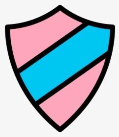 Emblem Icon Pink Light Blue Icon Transparent Shield Png Png Download Kindpng