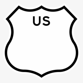 Highway Sign Icon - Highway Map Icon, HD Png Download - kindpng
