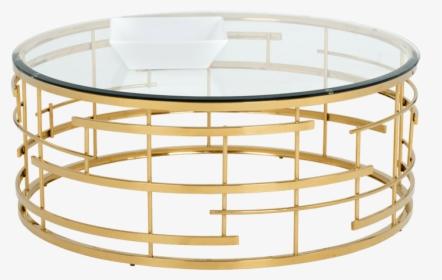 Sunpan Gold Coffee Table Hd Png