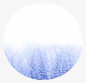 Icon Background Snow Aesthetic Winter Cold Blue Circle Hd Png Download Kindpng