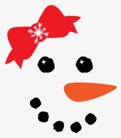 Snowman Face Svg Free Hd Png Download Kindpng