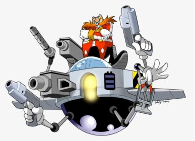 Transparent Dr Robotnik Png Sonic The Hedgehog Dr Eggman Robots Png Download Kindpng