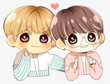 635 6356269 bts jungkook cute chibi btsjungkook jimin png cute