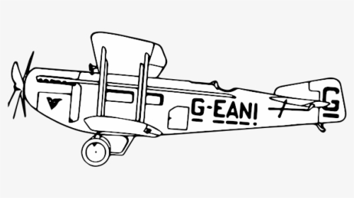 Line Art Art Jaw Cute Airplane Clipart Hd Png Download Kindpng