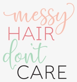 Messy Hair Do Care Cartoon Hd Png Download Kindpng