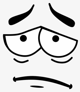 Eyes Clipart Line Art Cartoon Eyes And Mouth Hd Png Download