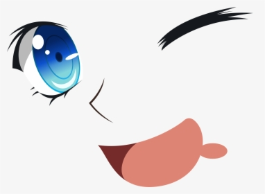 Cartoon Eyes And Mouth Transparent Anime Eyes And Mouth Hd Png