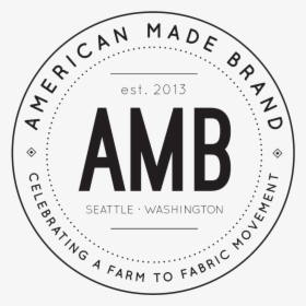 American Made Brand Circle Logo Template Free Hd Png Download