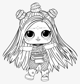 l  o  l  surprise doll png  baby free printable unicorn coloring pages transparent png