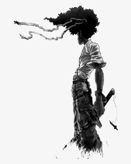 Afro Samurai Female Character Hd Png Download Kindpng